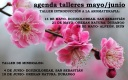 agenda talleres mayo/junio