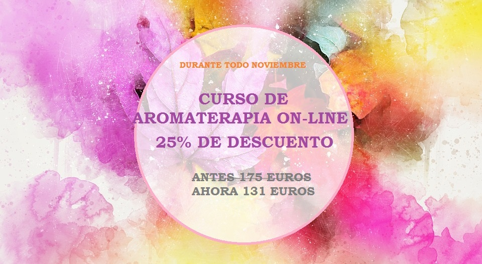 CURSOS CON 25 % DE DESCUENTO DURANTE EL MES DE NOVIEMBRE !!!